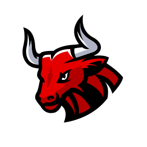 Bull-head-mascot-logo-vector