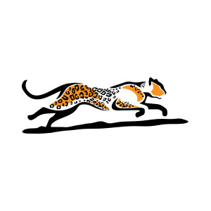 cheetah, logo, africa, nature, fast, fastest, run, speed,
