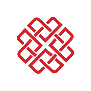 Heart love abstract feeling logo