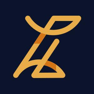 Letter Z geometric line logo vector