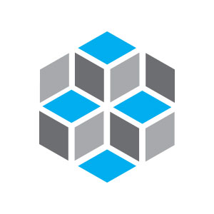 cube square abstract logo
