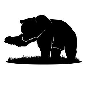 Bear grizzly logo